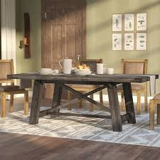 dark wood dining room tables exquisite farmhouse dining tables birch lane in dark wood extending