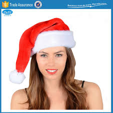merry christmas santa u0027s cowboy hat with fluff fancy dress for