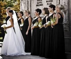 black and white wedding bridesmaid dresses wedding color scheme black white wedding majestic weddings