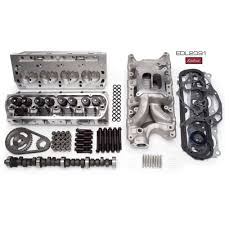 1965 mustang 289 horsepower edelbrock 2091 top end engine kit performer rpm 367 hp 289 302