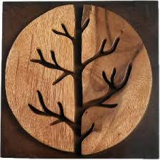 wooden wall hanging home wooden age tree wall decor wall hangings homeshop18