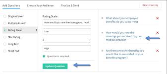 creating a survey help desk