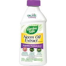 garden safe brand neem oil extract concentrate is 3 garden