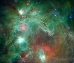 runaway stars leave infrared waves in space nasa