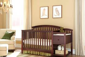 Espresso Baby Crib by Table Baby Crib With Changing Table Stunning Changing Table