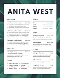 Fashion Resume Templates Lush Fashion Designer Resume Templates By Canva