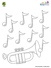 barney friends musical trumpet activity printable pbs