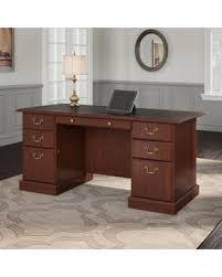 Bush Bennington L Shaped Desk Great Deal On Bush Saratoga Managers Desk Ex45666 03k