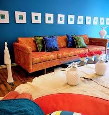 blue and orange room interior design living family room design concepts to love