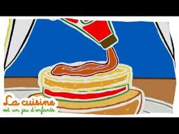 jeux de cuisine de poisson hamburger de poisson la cuisine est un jeu d enfants activités