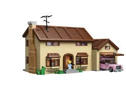lego officially announces the simpsons family house 71006 lego simpsons family house front 2