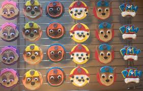 12 paw patrol edible fondant cupcake toppers chase skye zuma