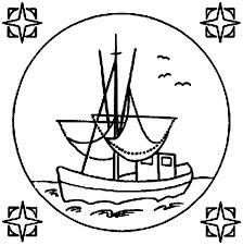 dessins de air marin à colorier