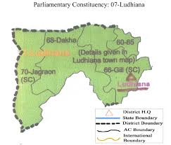 Punjab Map Parliamentary Constituencies Maps Gallary