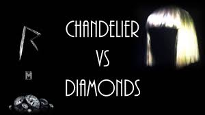 chandelier diamonds chandelier vs diamonds