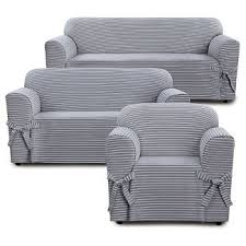 Grey Slipcover Sofa by Slipcovers U0026 Futon Covers Target