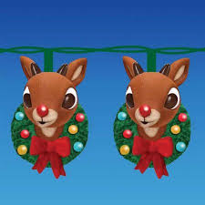 10 rudolph red nose reindeer christmas wreath