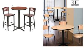 Break Room Table And Chairs by Kfi Hospitality Breakroom And Commercial Grade Outdoor Furniture