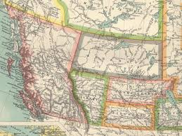 Map Of The Western United States Map Of Western Canada And Western United States My Blog