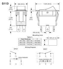 lighted rocker switch wiring diagram 120v lighted rocker switch wiring diagram s113 l 12v light bar toggle