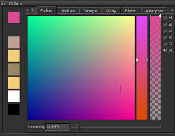 pick color selecting colors from a picker or image