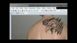 tattoo edit tattoo on body youtube