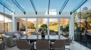 awesome glass room extension designs and colors modern creative