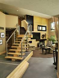 Living Room With Stairs Design Giving Your Interior Design Look More Natural U0026 Organic