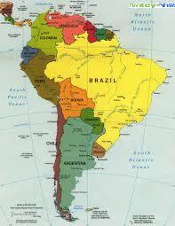 map of brazil america map brazil