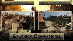dying light ps4 game dying light original vs enhanced edition ps4 graphics