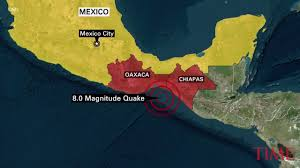 Mexico City Mexico Map by Mexico City Earthquake Leaves 64 People Dead Time Com