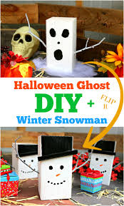 this diy halloween ghost doubles as a