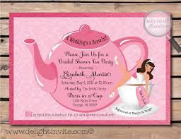 make your own bridal shower invitations bridal shower tea party invitations theruntime