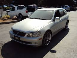 lexus is300 silver 2002 lexus is300 4 door station wagon 3 0l in line at rwd color