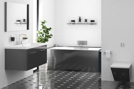 black and grey bathroom ideas pictures of tranquil and luxurious white bathroom designs