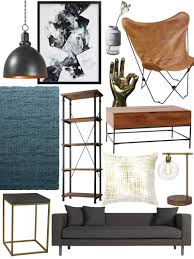 create the look warm industrial living room shopping guide