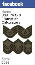 2017 usaf waps promotion calculators