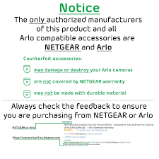amazon com arlo pro by netgear security system with siren 4