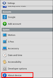 what android version do i how do i look up the android version alldata support