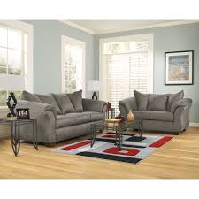 Livingroom Pc by Cobblestone Exeter Living Room Group 8 Pc With 3 Pc Table Rug