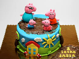 peppa pig birthday cake ideas children u0027s birthday cakes in