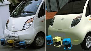 indian car tata video indian man builds driverless tata nano motoroids