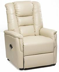 Riser Recliner Chairs The Bradfield Riser Recliner Chair In Faux Leather Pu Single