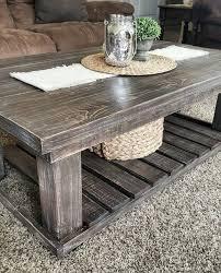 farmhouse end table plans rustic coffee table plans home plans