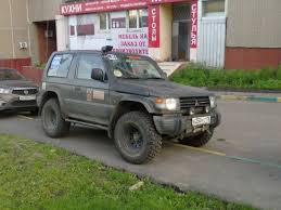 mitsubishi pajero modified did i just see something good today dysagt opinion seeking thread