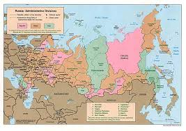 Map Of Russia And China by
