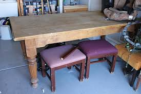 Craigslist Dining Room Table And Chairs by Craigslist Dining Table U2026before U0026 After