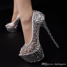 wedding shoes nyc newest 2017 wedding shoes peep toe net sequins cut outs