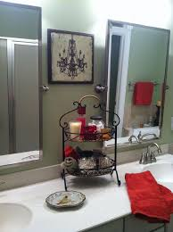 bathroom endearing black and red bathroom accessories bathrooms
