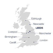 map uk leeds uk city residential buy to let investments in leeds
